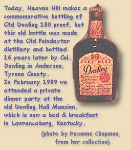 Old Dowling 16 year old 100 proof